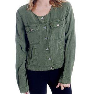 Sanctuary Anthropologie Army Green Jacket